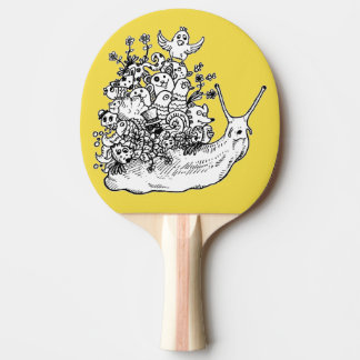 Doodle #1 ping pong paddle