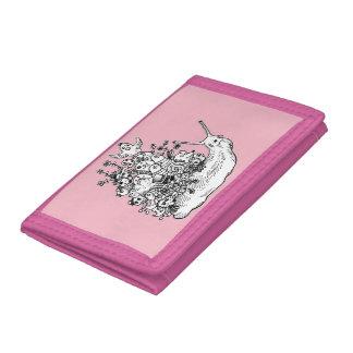 Doodle #1 tri-fold wallet