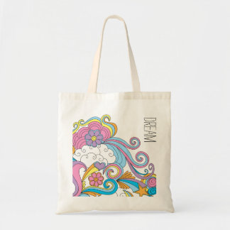 "Doodle art ""Dream"" Tote bag"