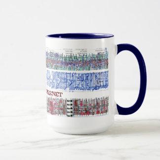 doodle bands mug