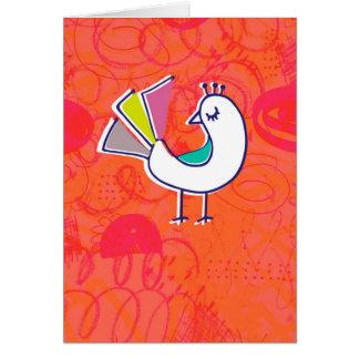 Doodle Bird Notecard