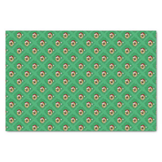 Doodle blond Christmas Tissue Paper