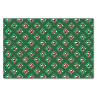 Doodle brown Christmas Tissue Paper
