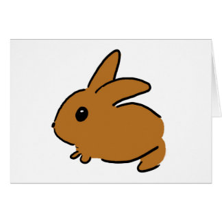 Doodle Bunny Notecard