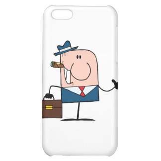 Doodle Businessman Holding A Thumb Up iPhone 5C Covers
