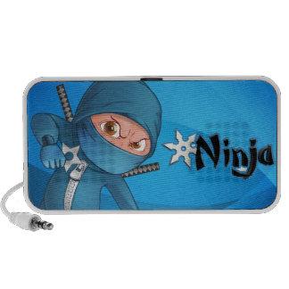 Doodle by OrigAudio Blue Ninja Speaker