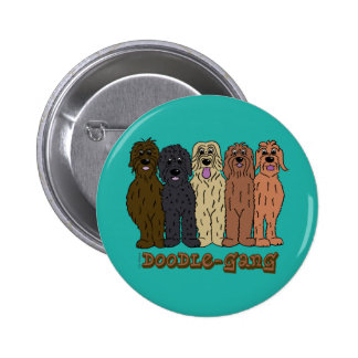 Doodle course 2 inch round button
