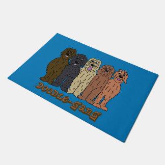 Doodle course doormat
