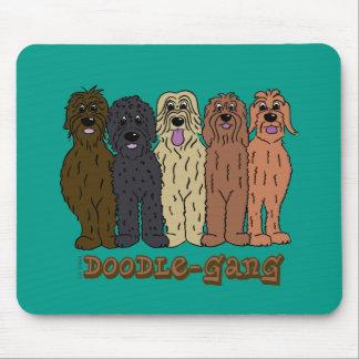 Doodle course mouse pad