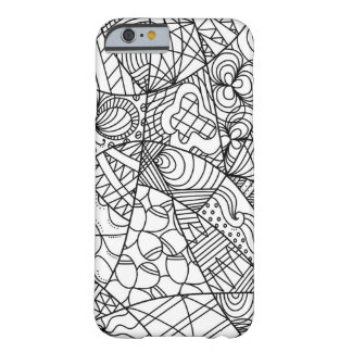 Doodle Design Barely There iPhone 6 Case