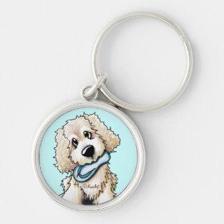 Doodle Dog Keychain