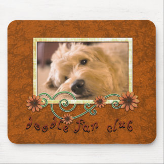 Doodle Fan Club Custom Pet Dog Photo Mouse Pad