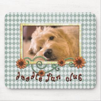 Doodle Fan Club Customizable Photo Mouse Pad