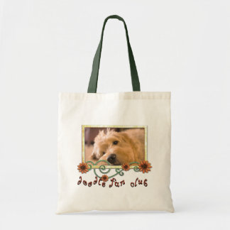 Doodle Fan Club Customizable Photo Tote Bag