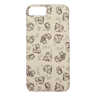 Doodle Fox Phone Case