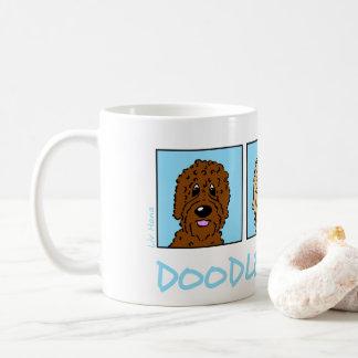 Doodle Friends Coffee Mug