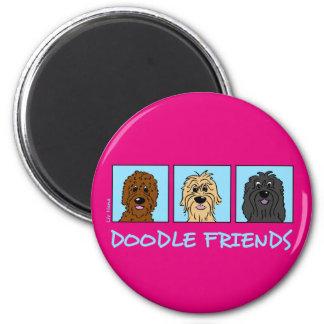 Doodle Friends Magnet