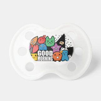 Doodle Good Morning Pacifiers