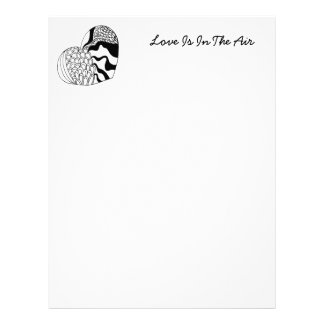 Doodle Heart | Valentines Day Letterhead