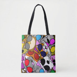 Doodle Life Tote Bag