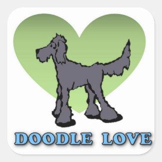 Doodle Love Sticker