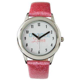 Doodle Lover Wrist Watch