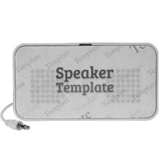 Doodle OrigAudio™ portable speaker Custom Template