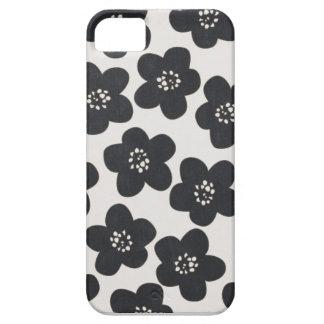 doodle pattern flower iphone 5 case