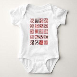 doodle patterns baby bodysuit