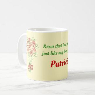 Doodle Rose Bouquet Coffee Mug