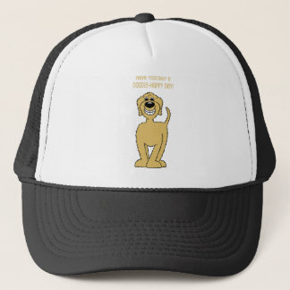 Doodle Smile blond Trucker Hat