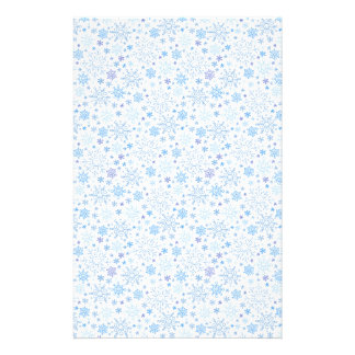 Doodle Snowflake on a white background Stationery