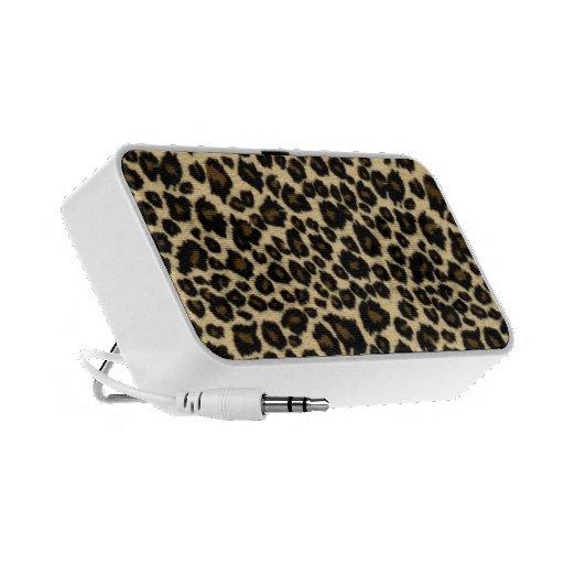 Doodle Speaker - Leopard Fur