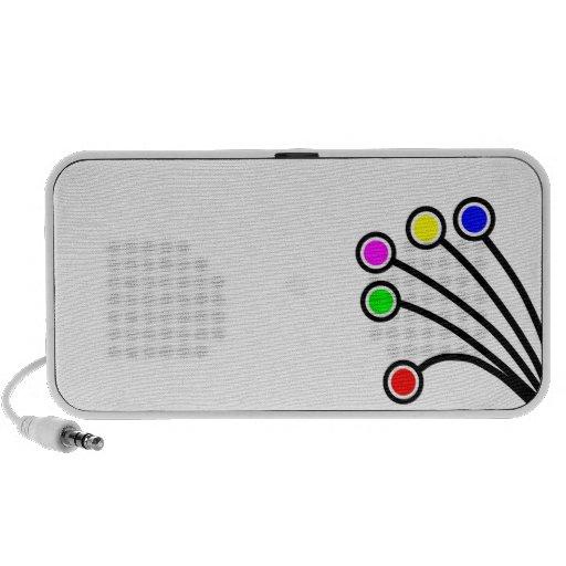 Doodle Speakers by OrigAudio - Dandy Dots