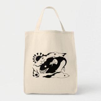 Doodle Tote Bag_Floating Fish