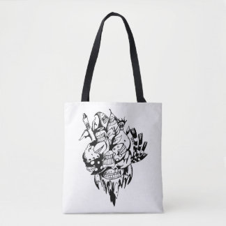 Doodle Tote Bag_Go Green Buddy