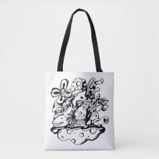 Doodle Tote Bag_Jungle Nut