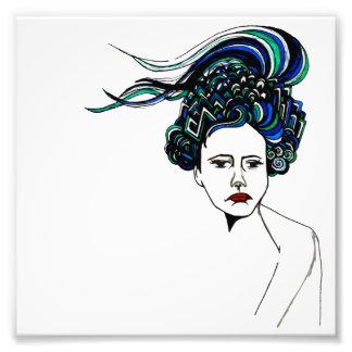 Doodle Woman Photo