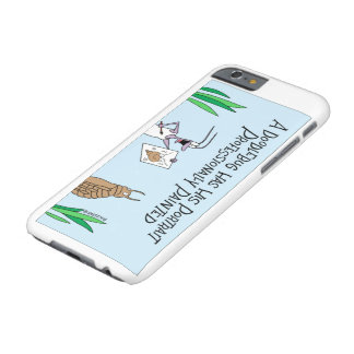 Doodlebug gets a portrait barely there iPhone 6 case
