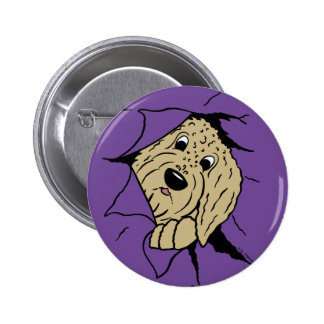 Doodles are just like that! 2 inch round button