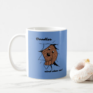 Doodles are just like that! coffee mug