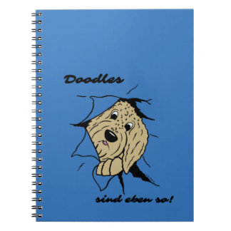 Doodles are just like that! notebook