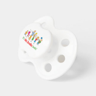 Doodles family pacifiers