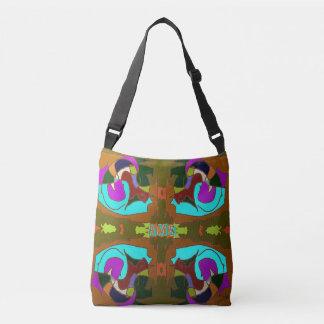 Doodles Indigenous Abstract Crossbody Bag