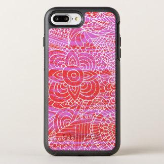 doodling art OtterBox symmetry iPhone 8 plus/7 plus case