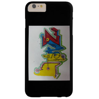 doodling barely there iPhone 6 plus case