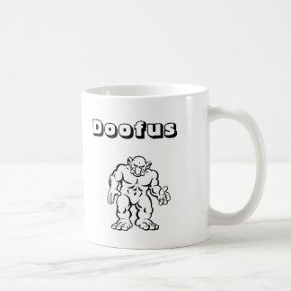 Doofus Cave Troll Coffee Mug