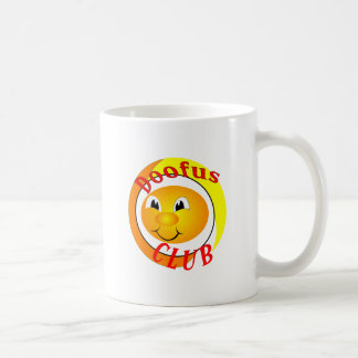 Doofus Club Coffee Mug