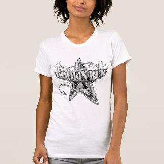 Doolin Run_Black & White Grunge T-Shirt
