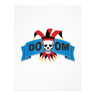 doom death image personalized letterhead